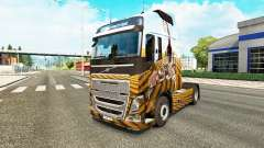 Escorpião de pele para a Volvo caminhões
