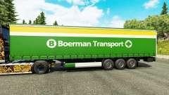 Pele Boerman Transporte de semi-reboques