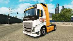 TNT pele para a Volvo caminhões