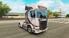 GiVAR BV pele para o Scania truck