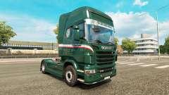 Wallenborn pele para o Scania truck