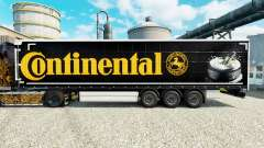 Pele Continental para semi-reboques