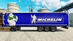 A pele na Michelin semi-reboques