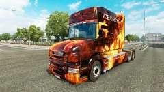 Chamas da pele para caminhão Scania T