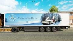 Pele Mercedes-Benz semi-reboques