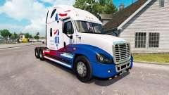 Pele A. T. Um trator Freightliner Cascadia