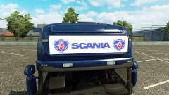 Publicidade caixa de luz para a Scania Streamlin