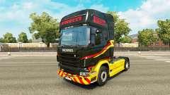 A Pirelli para a pele do Scania truck
