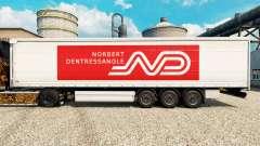 Norbert Dentressangle pele para reboques