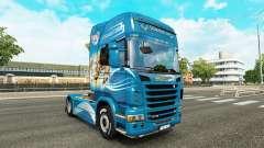 Pele O Grifo trator Scania