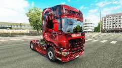 Hintergrund pele para o Scania truck