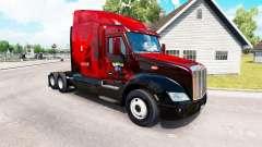 Valor pele para o caminhão Peterbilt 579