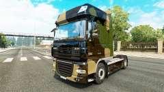 Camo pele para caminhões DAF