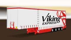 Cortina semi-reboque Krone Viking Express