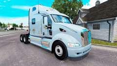 Mercer pele para o caminhão Peterbilt 387