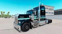 Pele Ervins de Transporte em caminhão Kenworth W