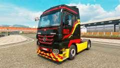 A Pirelli para a pele do caminhão Mercedes-Benz