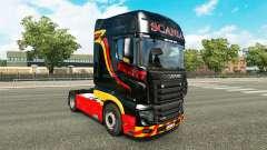 Pirelli pele para a Scania caminhão R700
