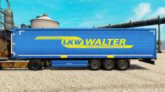 LKW WALTER pele para engate de reboque