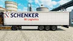 Pele Schenker Logistics para reboques