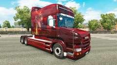 Pele de Dragão para o caminhão Scania T