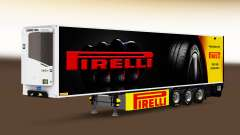 Semi-reboque frigorífico Chereau Pirelli