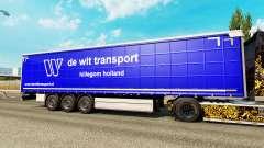 Pele De Wit Transporte de semi-reboques