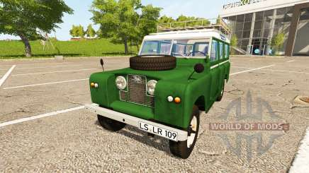 Land Rover Series IIa Station Wagon 1965 para Farming Simulator 2017