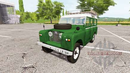 Land Rover Series IIa Station Wagon 1965 v2.0 para Farming Simulator 2017