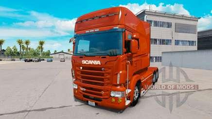 Scania R730 long v1.5.2 para American Truck Simulator