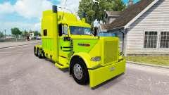 90 o estilo de pele para o caminhão Peterbilt 38