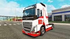 Wolfsburg pele para a Volvo caminhões