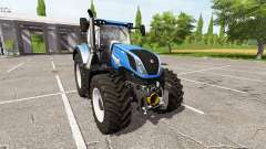 New Holland T7.290 dual wheels