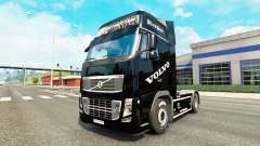 Pérola negra de pele para a Volvo caminhões