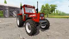 New Holland 110-90 Fiatagri red