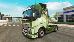 Para a pele do caminhão Volvo