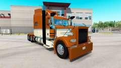 Cremosa pele do Ouro para o caminhão Peterbilt 3