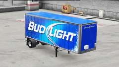 Pele Bud Light metal no trailer