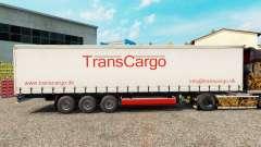TransCargo pele para cortina semi-reboque