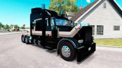 Transporte de pele para o caminhão Peterbilt 389