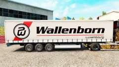 Wallenborn pele no trailer cortina