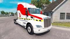 Ghostbusters pele para o caminhão Peterbilt 579