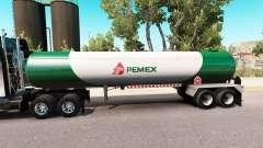 Pele v3 Pemex gás semi-tanque