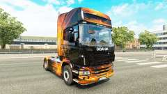 Cúbica Flare pele para o Scania truck