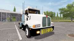 Kenworth T600 oversize load
