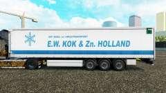 Pele E. W. Kok & Zn na Holanda cortina semi-rebo