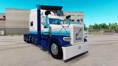 Pele Blur Linha no caminhão Peterbilt 389