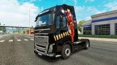 Homem de ferro pele para a Volvo caminhões