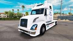 Frio Express pele para a Volvo caminhões VNL 670