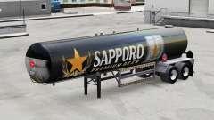 Pele Sapporo para o semi-tanque